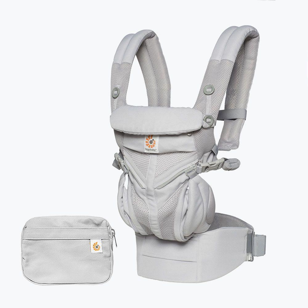 Ergobaby Omni全階段型四式360透氣款嬰兒揹巾/揹帶-灰色
