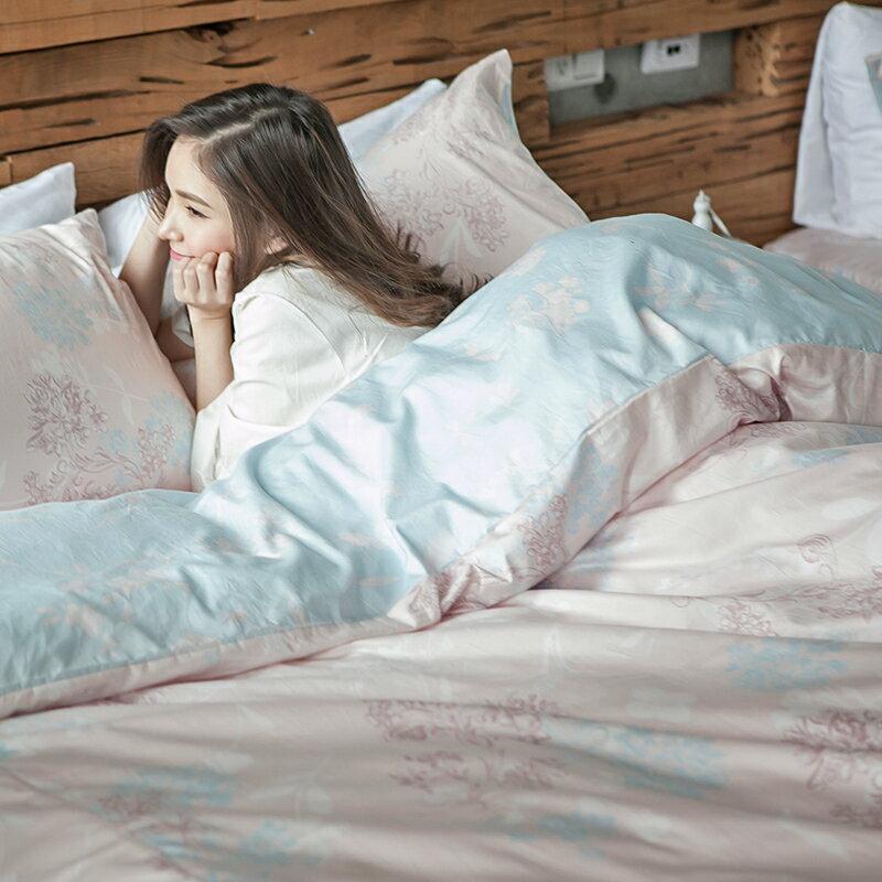床包兩用被套組  /  雙人-100%精梳棉【奇幻不思議-夢遊愛麗絲】含兩件枕套 冬夏鋪棉兩用被套  奇妙童話時光 戀家小舖 台灣製 0