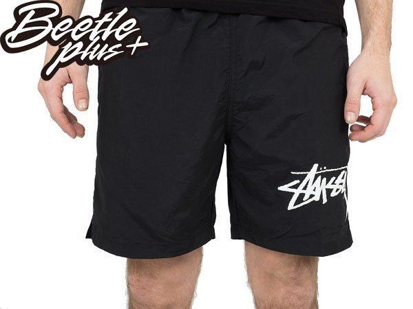 2016 BEETLE STUSSY STOCK ELASTIC WAIST TRUCKS 黑白 短褲 海灘褲 衝浪 1