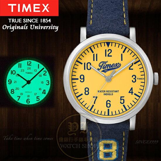 TIMEX美國第一品牌Originals University系列品牌誕生 腕錶TW2P8
