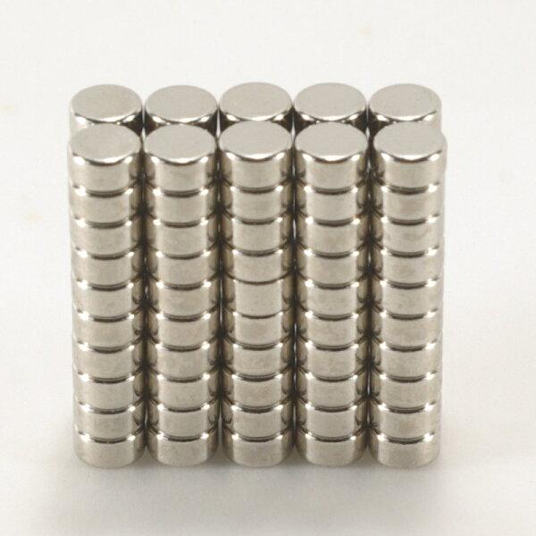 強力磁鐵釹鐵硼 圓直徑0.4公分*厚0.2公分 100個