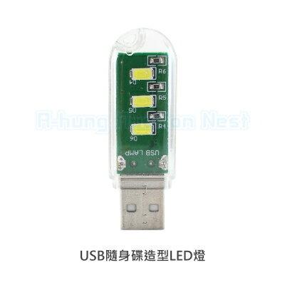 【A-HUNG】USB隨身碟造型LED燈 LED隨身燈 電腦燈 USB燈 小夜燈 可搭配行動電源 探照燈工作燈 手電筒