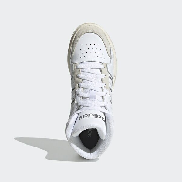 Adidas Neo Entrap Mid [H01229] 女鞋 運動休閒 復古 籃球鞋 皮革 舒適 愛迪達 白 粉紅