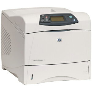 HP LaserJet 4250N Laser Printer - Monochrome - 1200 x 1200 dpi Print - Plain Paper Print - Desktop - 45 ppm Mono Print - Letter, Legal, Executive, Statement, Envelope No. 10, Monarch Envelope, Custom Size - 200000 Duty Cycle - Manual Duplex Print - Ethern 3