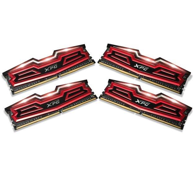 【新風尚潮流】 威剛 超頻記憶體 XPG DDR4-3000 16G B x4 AX4U3000316G16-QRD