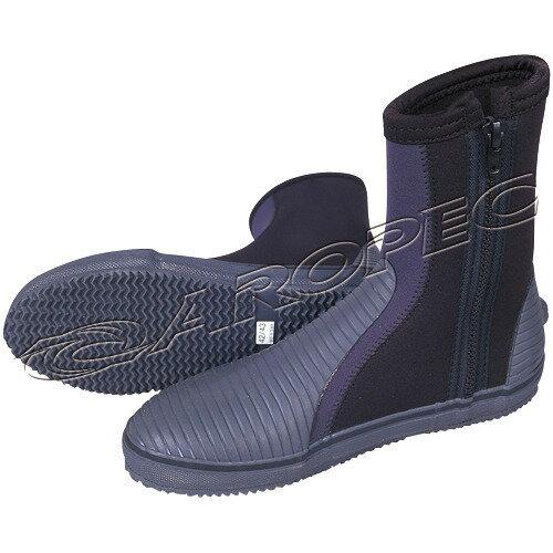 【【蘋果戶外】】AROPECBT-50T-BK亞洛沛百分百台灣製5mmNeoprene長筒潛水鞋