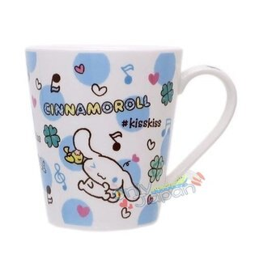 【真愛日本】18092100003馬克杯-CN音符三麗鷗大耳狗喜拿狗馬克杯水杯杯子單耳杯食器日用品