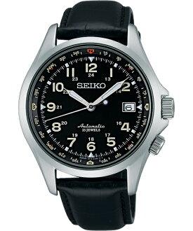 Seiko 精工五號 6R15-02N0J(SARG007J)紳士高階機械腕錶/黑面40mm