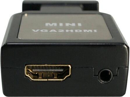 AviewS-VGA + AUDIO轉HDMI轉換器/PSTEK HDC-VAH2 2