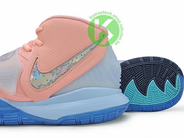 2019-2020 Kyrie Irving 最新代言鞋款 限量發售款 CONCEPTS x NIKE KYRIE 6 CNCPTS EP VI KHEPRI 淡粉紅 藍底 聖甲蟲 古埃及 神話 凱布利 前掌 ZOOM TURBO AIR 氣墊 (CU8880-600) ! 3