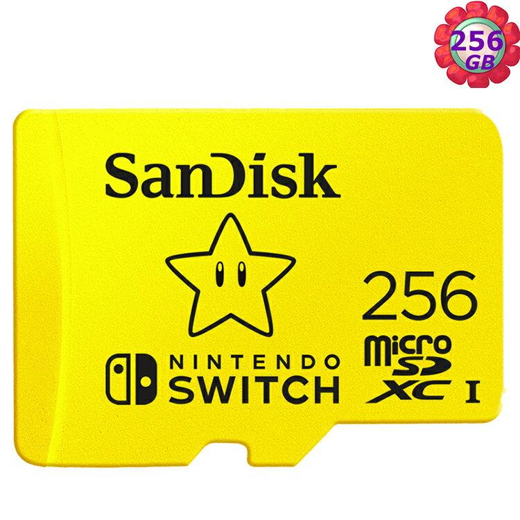 SanDisk 256GB 256G microSDXC【Nintendo SWITCH】microSD SD SDXC 100MB/s U3 SDSQXAO-256G 任天堂記憶卡