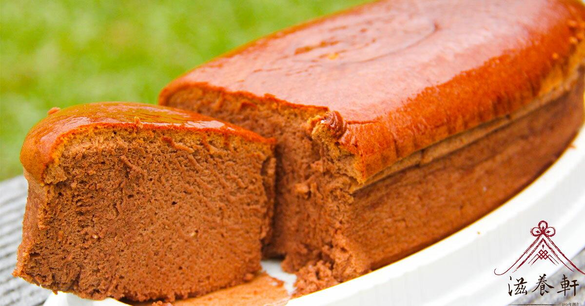 日式巧克力輕乳酪蛋糕 - 冰涼最美味 [滋養軒]