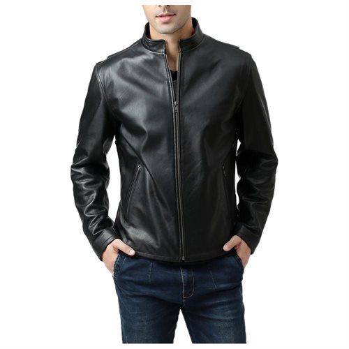BGSD Men's Urban Motorcycle Leather Jacket de899fced8c4c7c04380f342985e2911