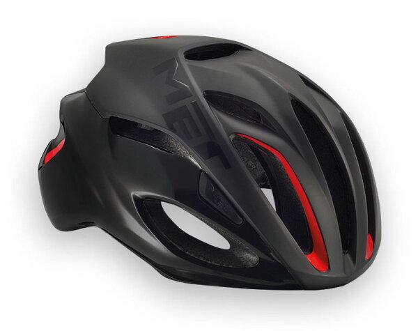 【7號公園自行車】Met2017RIVAL專業級空氣動力帽(黑紅)