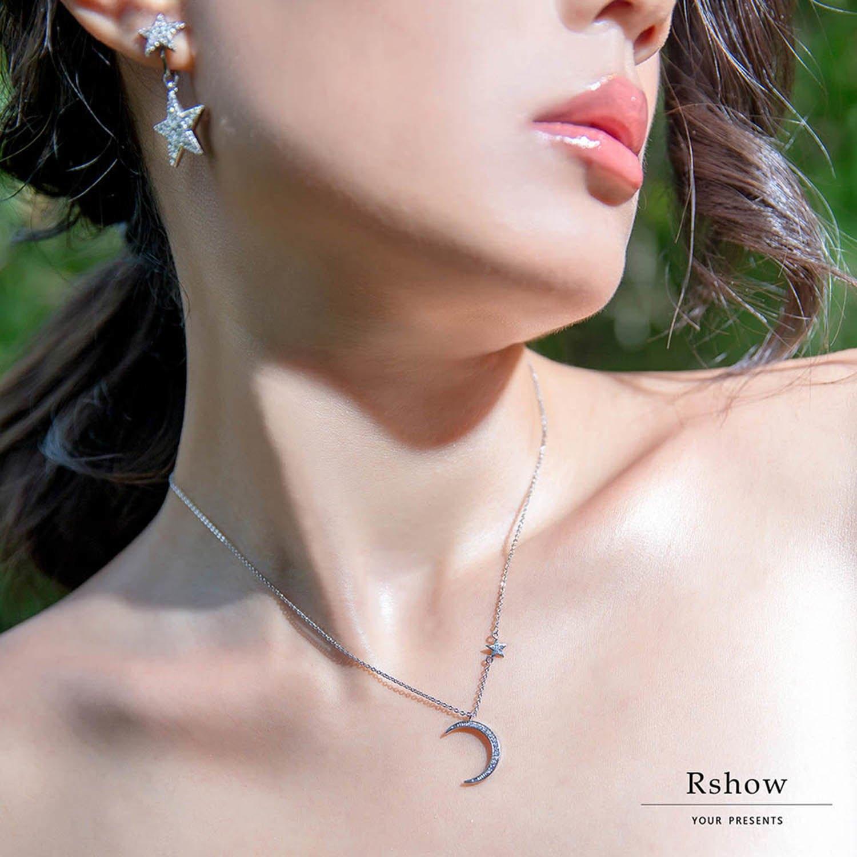 【Rshow】Moon light 沐浴月光下 微鑲鎖骨鍊 0