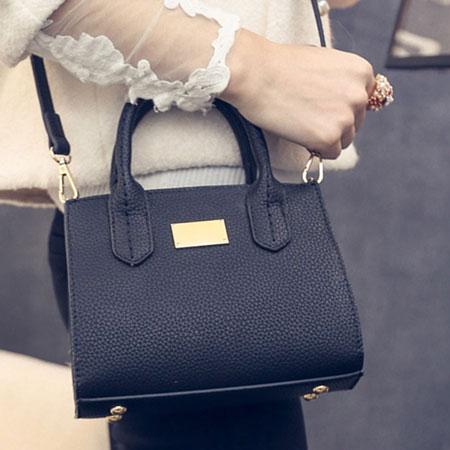 手提包 經典凱莉質感金牌側背包【O3053】☆雙兒網☆ 7