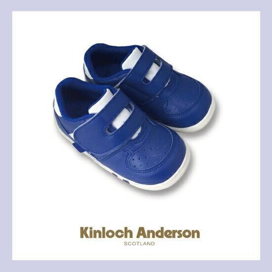 【金安德森】舒適機能學布鞋(藍)