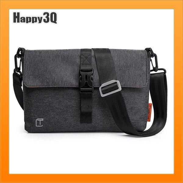單肩包郵差包軟包包休閒斜背包手拿包大容量A4包上班包上課包-黑【AAA4336】