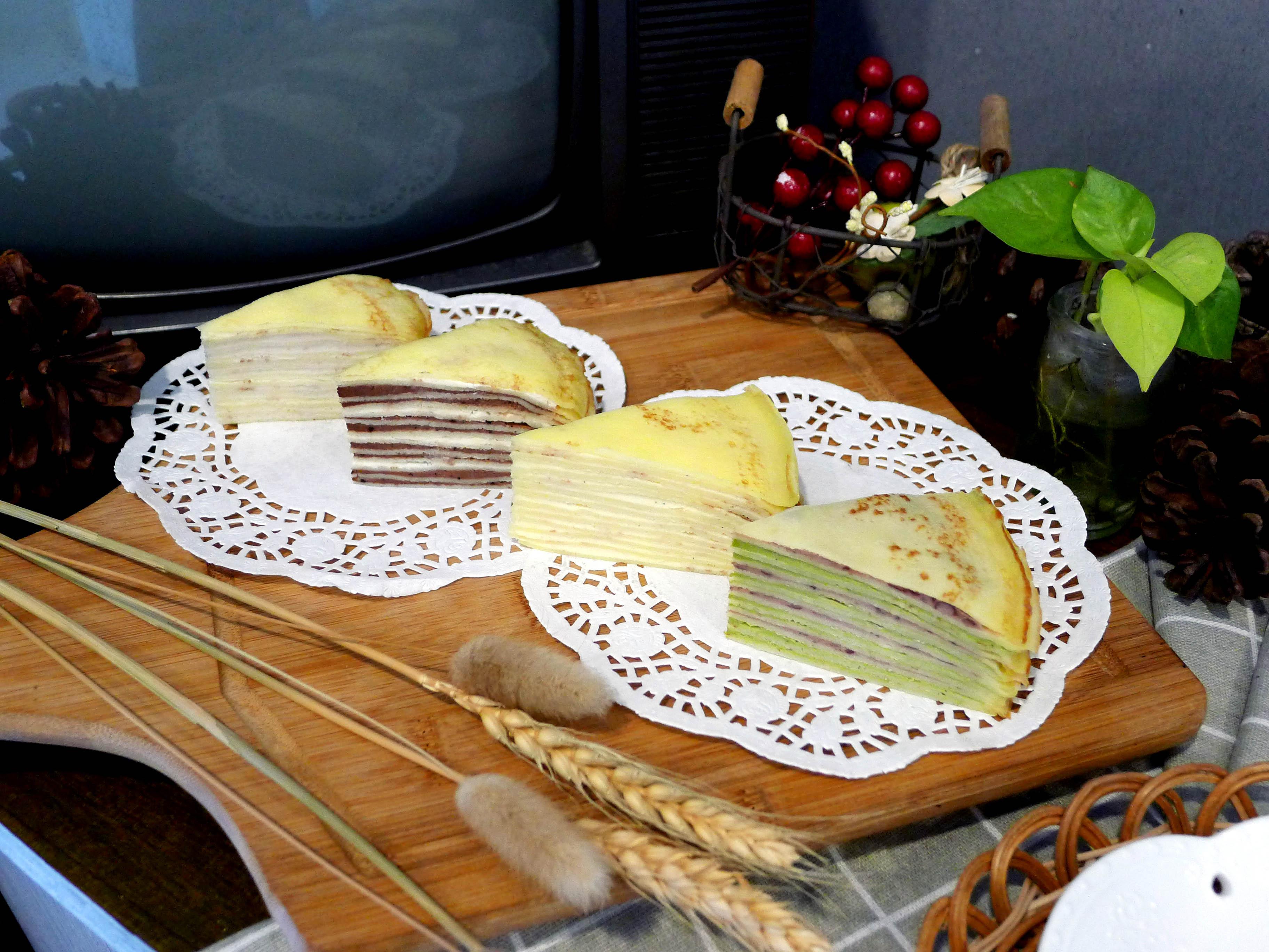 【千層蛋糕】六吋│蛋奶素│原味│巧克力│宇治金時 3