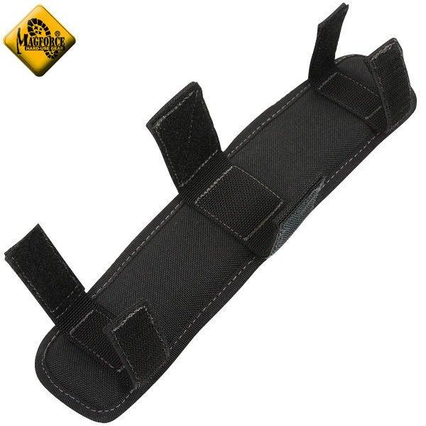 Magforce 馬蓋先 2吋透氣肩墊/側背包肩墊/側背包配件 台灣製 MP0208 黑