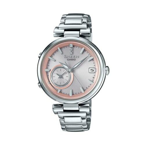 CASIO SHEEN  耀眼藍牙連線 腕錶  SHB~100D~4ADR
