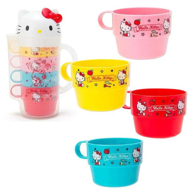 HelloKitty冷水壼與4水杯組日本限定正版品