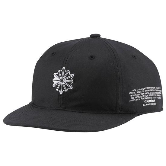 REEBOK CLASSIC LOW PROFILE HAT 帽子 棒球 經典 可調式 黑【運動世界】CW5013