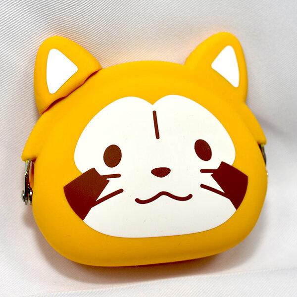 小浣熊PuchiRascal日本正版mimiPOCHI矽膠零錢包