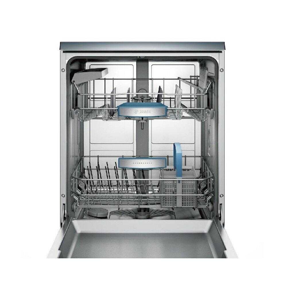 ★贈基本安裝【BOSCH博世】60cm 13人份 110V獨立式洗碗機(SMS53E12TC) 3