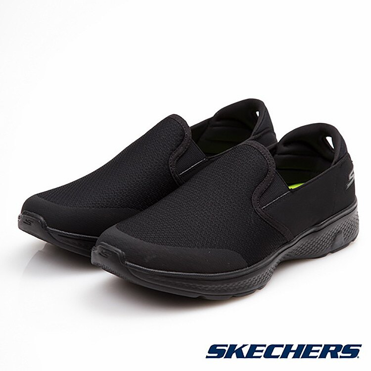 SKECHERS 男款 GO Walk 4 健走鞋 54171 BBK / 城市綠洲 (美國品牌、輕量、避震、運動休閒鞋)