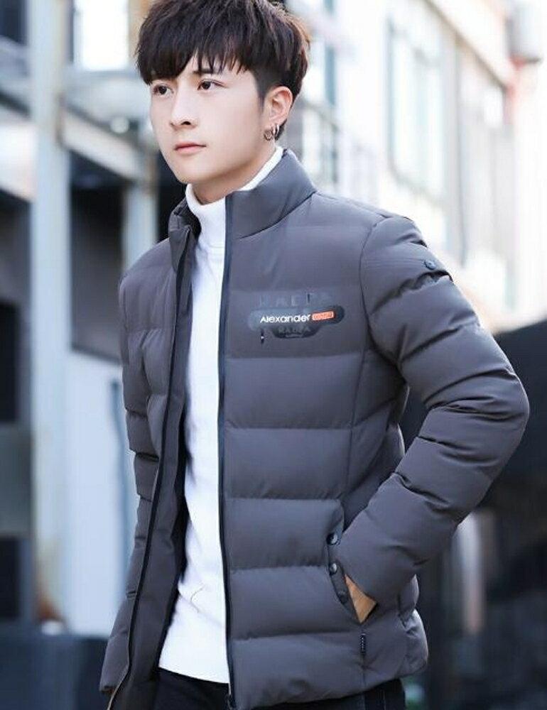 羽絨外套 加厚男士棉衣韓版修身短款棉襖學生2019新款潮流外套羽絨棉服