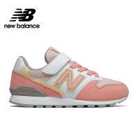New Balance 美國慢跑鞋/跑步鞋推薦【New Balance】童鞋_中性_粉橘_YV996PPY-W楦