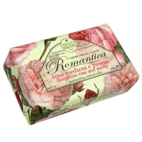 Nesti Dante 義大利手工皂 愛浪漫生活風系列-佛羅倫斯玫瑰牡丹皂 250g
