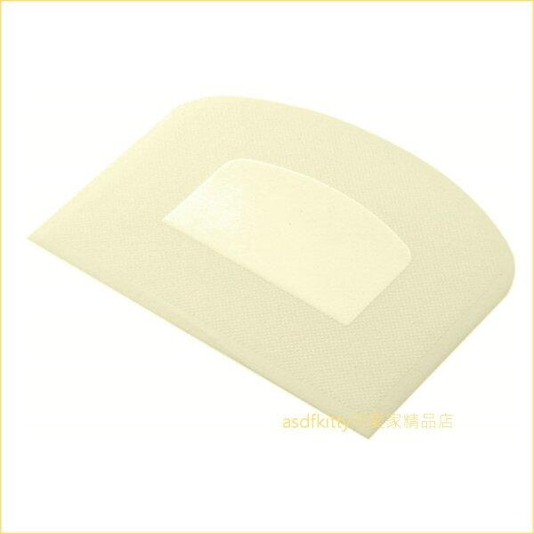 asdfkitty可愛家☆貝印DL-6288米色刮板刮刀和麵刀工作板-日本製