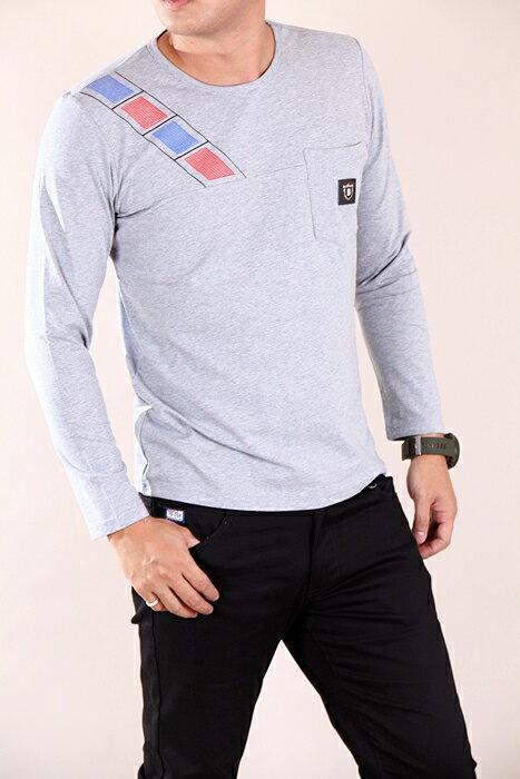 CS衣舖 彈力伸縮 高質感 長袖T恤 3333 4