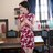 東方美人旗袍唐裝專賣店 ☆°((超低價690元))°☆272(兩色)。優雅美麗蕾絲印花改良式時尚顯瘦日常短旗袍連身裙洋裝 2