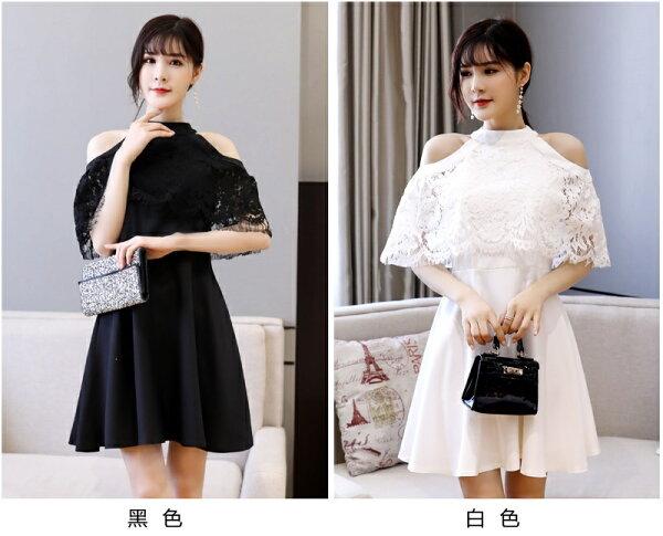 天使嫁衣:天使嫁衣【J2K9893】2色中大尺碼時尚宴會優雅小禮服˙預購訂製款
