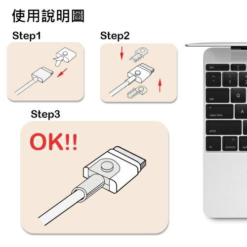 ~KooPin~APPLE MACBOOK 磁吸充電線保護套  三組入