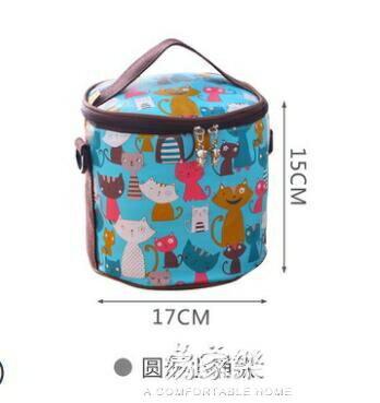 便當袋防水保溫卡通飯盒包鋁箔加厚飯盒袋手提包燜燒杯壺學生便當包袋