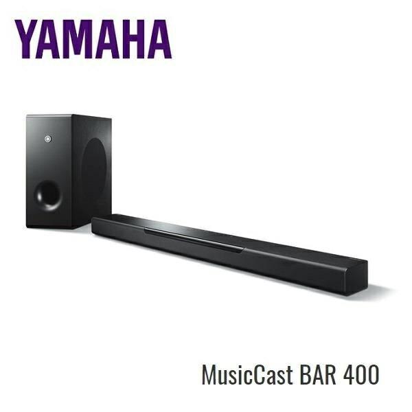 【限時特價】YAMAHA 家庭劇院聲霸MusicCast BAR YAS-408