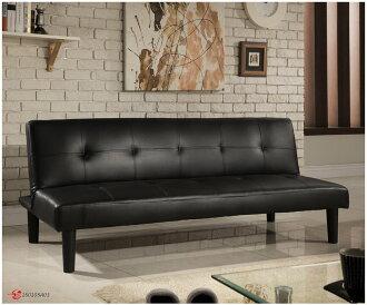 !!新生活家具!! 皮沙發床 黑色 三人位沙發床 限時特價 櫻桃黑森林 三色可選 非 H&D ikea 宜家