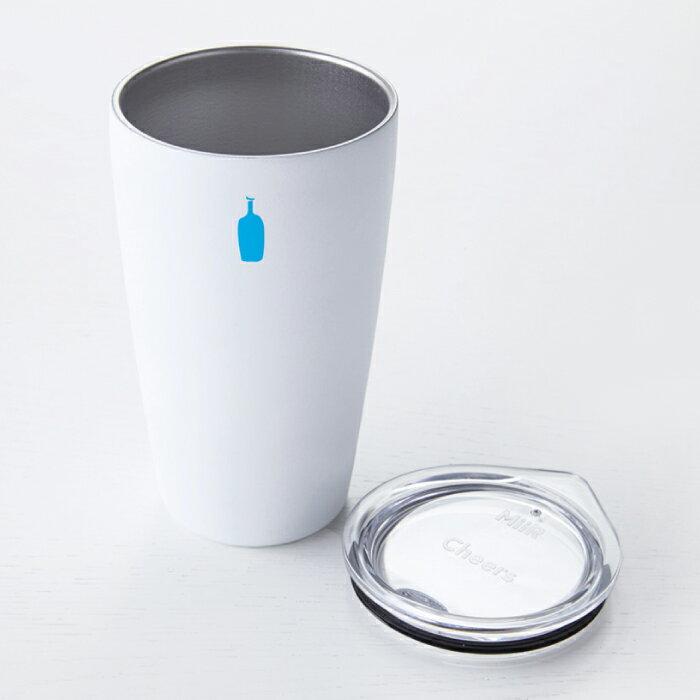 日本BLUE BOTTLE 藍瓶咖啡 / COMMUTER CUP. MiiR聯名雙層真空斷熱保溫保冷隨行杯( 白色 )   / g039。1色。(3456*1.5)日本必買 日本樂天代購 /  件件含運 0