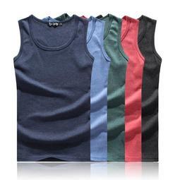 夏天新款 百搭 舒適 純棉背心 圓領 修飾身形 韓版螺紋 打底背心 彈力舒服 素色背心 ♚MY COLOR♚【E80】