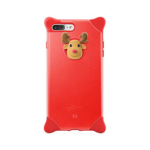 BoneiPhone87Plus(5.5)泡泡保護套紅-麋鹿手機殼