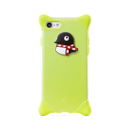 BoneiPhone87(4.7)泡泡保護套綠-企鵝手機殼