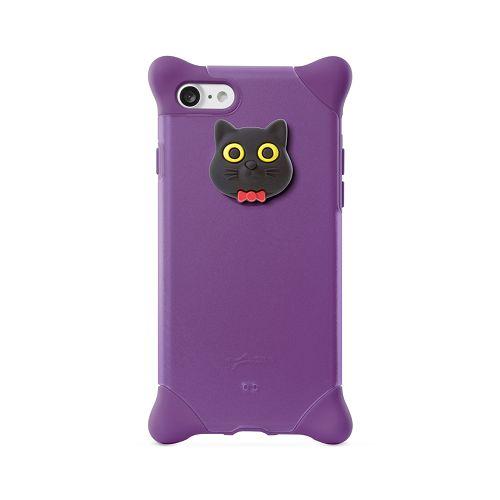 BoneiPhone87(4.7)泡泡保護套紫-貓咪手機殼