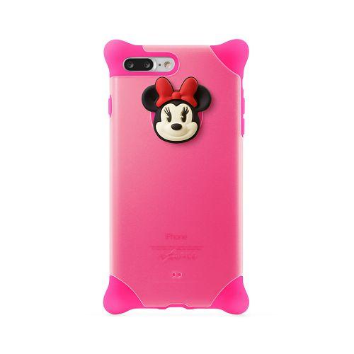 BoneiPhone87(4.7)泡泡保護套透明粉-米妮手機殼