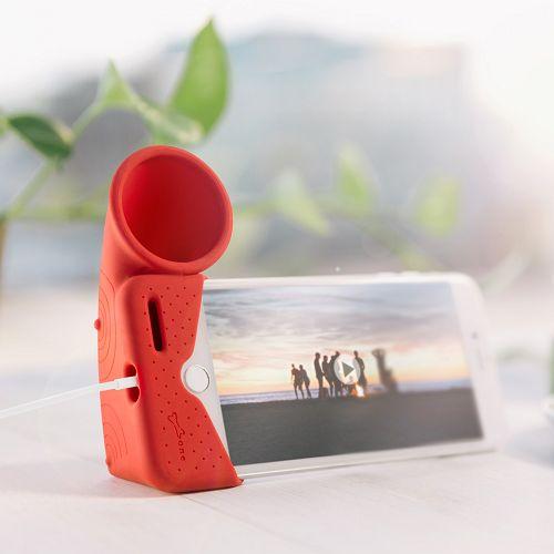 BonePhone87Plus號角揚聲器(紅)