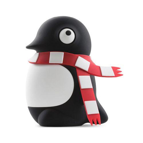 Bone公仔行動電源6700企鵝小丸(黑)