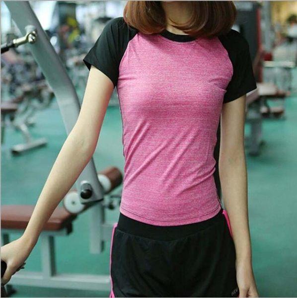 速乾 運動T恤 運動上衣 瑜珈服 運動服 健身上衣 休閒服